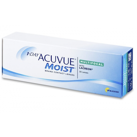 Lente de Contato Acuvue 1 Day Moist Multifocal