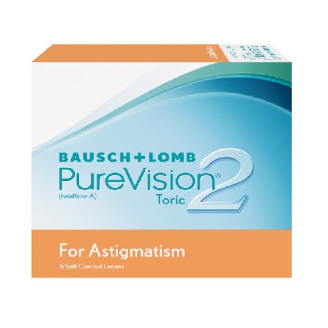 Lente de Contato PureVision Astigmatism