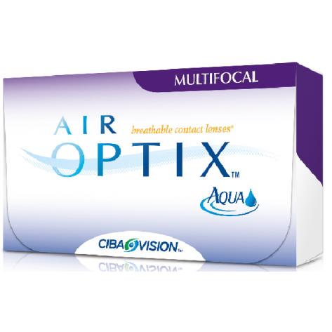 Lente de Contato Air Optix Aqua Multifocal