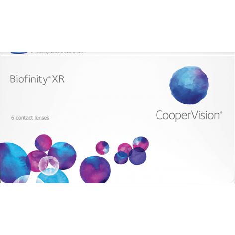 Lente de Contato Biofinity XR - Graus Altos