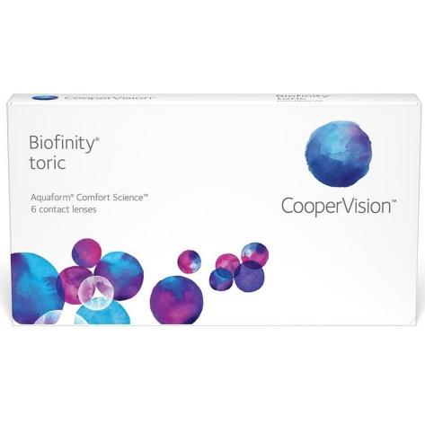 Lente de Contato Biofinity Toric