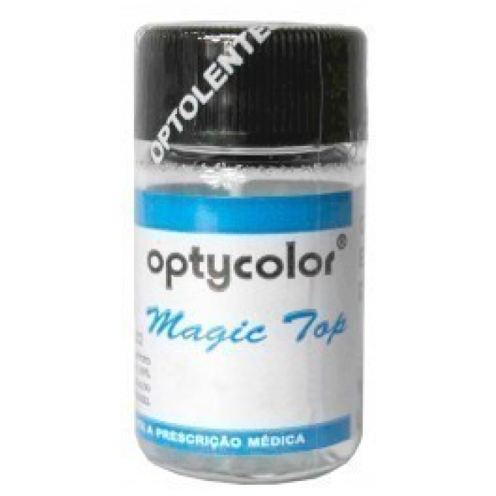 Lentes de Contato Colorida Magic Top (Com Grau) - Hidrogel - Por ... bf7d5b166f