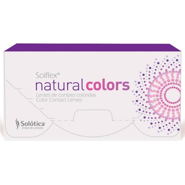 Lentes de Contato Coloridas Solflex Natural Colors - Sem Grau ... 5c499f07ed
