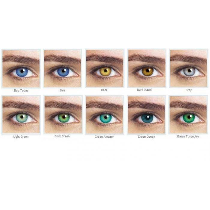 Lentes de Contato Colorida Optima Natural Look (Sem Grau) - Anual ... 52a36d943a