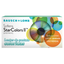 Lentes de Contato Coloridas SofLens StarColors II - Com Grau