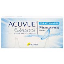 Lente de Contato Acuvue Oasys Astigmatismo