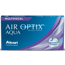 Lente de Contato Air Optix Aqua Multifocal