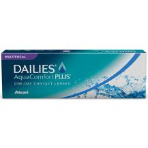 Lentes de Contato Dailies Aqua Comfort Plus Multifocal