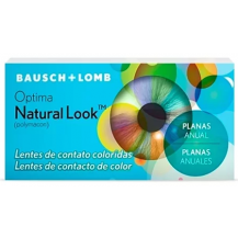 Lentes de Contato Colorida Optima Natural Look (Com Grau)
