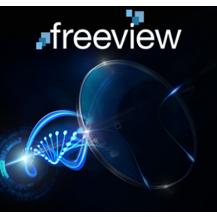 Lentes Multifocal Freeview Pro Policarbonato UV+ S.H Blue