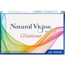 Lente de Contato Coloridas Natural Vision Glamour